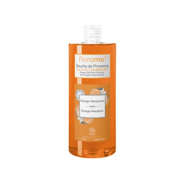 Florame Corps Gel Douche Orange Mandarine Bio 1L