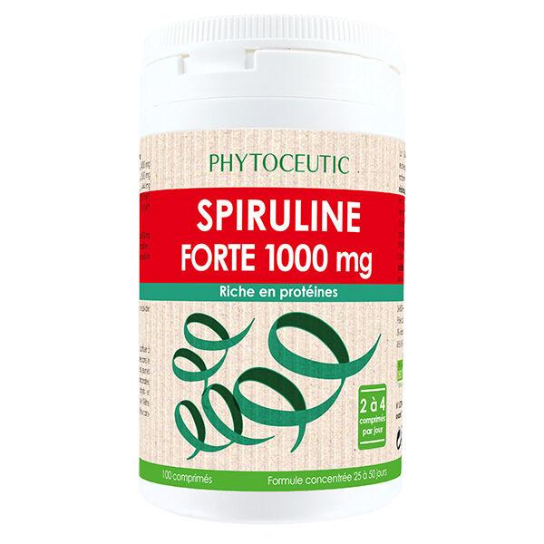 Phytoceutic Spiruline Forte 1000mg 100 comprimés