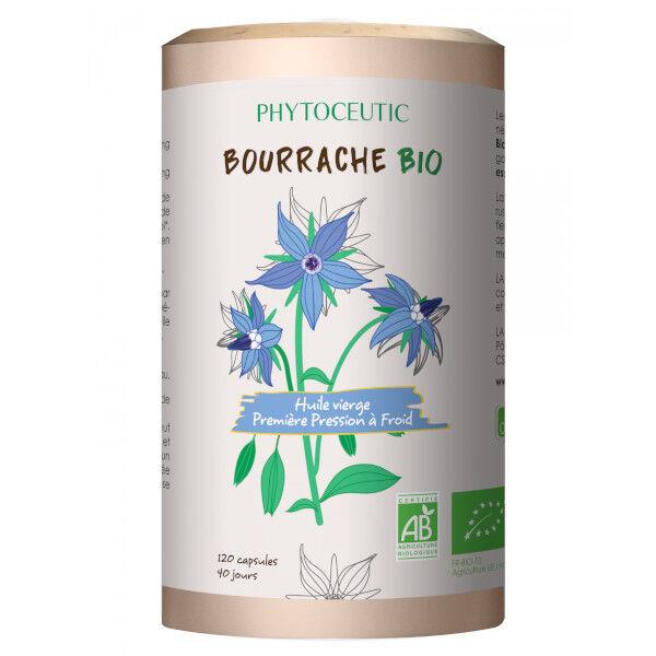 Phytoceutic Huile de Bourrache Bio 120 capsules