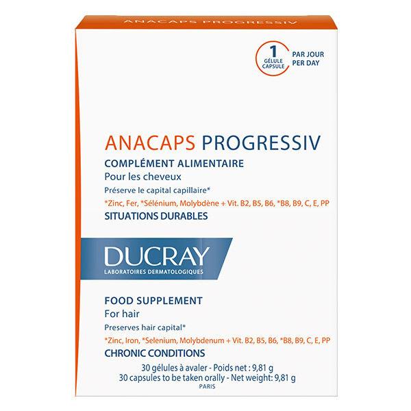 Ducray Anacaps Progressiv 30 gélules