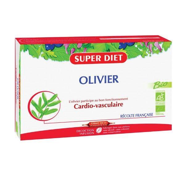 Super Diet Olivier Bio 20 ampoules de 15ml