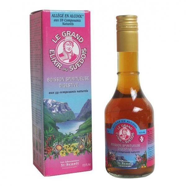 Elixir du Suédois Boisson Spiritueuse Digestive 20cl (17,5% vol)