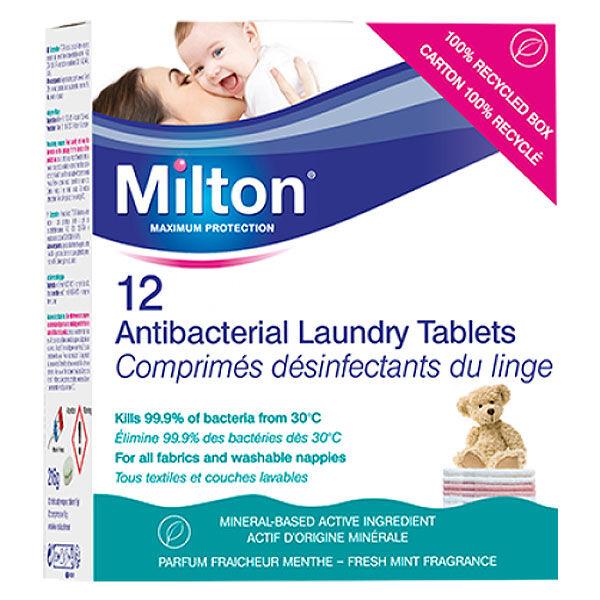 Milton Désinfectant du Linge 12 comprimés