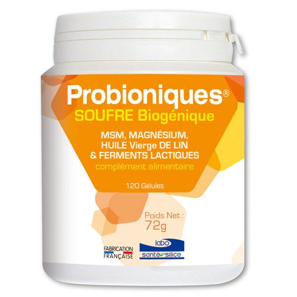Santé Silice Probioniques Soufre Biogénique 120 gélules