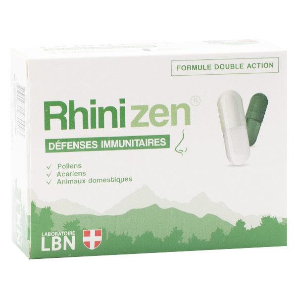Laboratoire LBN Rhinizen Défenses Immunitaires 60 gélules