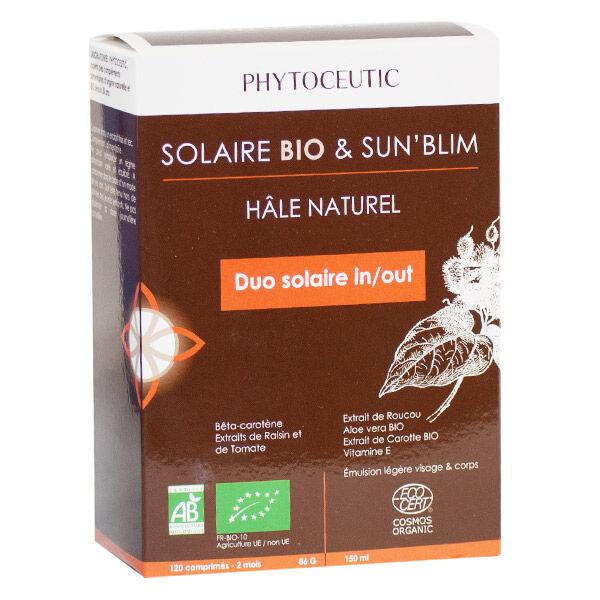 Phytoceutic Solaire Bio 120 comprimés + Sun'Blim 150ml