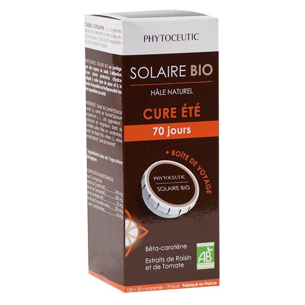 Phytoceutic Solaire Bio 120 comprimés + 10 Jours + Boîte de Voyage Offerte