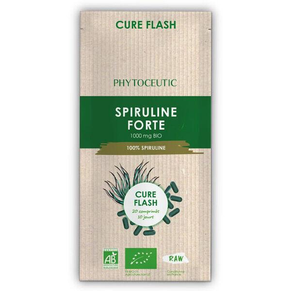 Phytoceutic Cure Flash Spiruline Forte Bio 20 comprimés