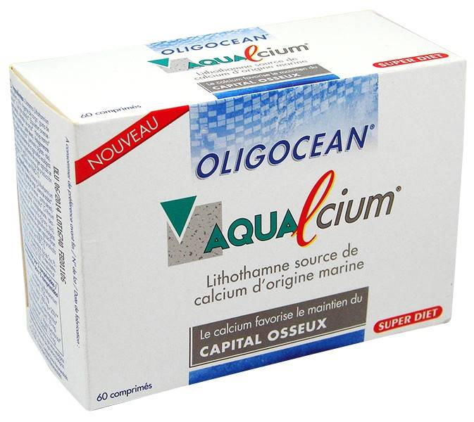 Super Diet Oligocean Aqualcium 60 comprimés