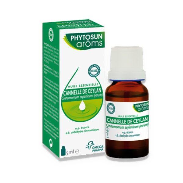 Phytosun Aroms Huile Essentielle Cannelle de Ceylan 5ml