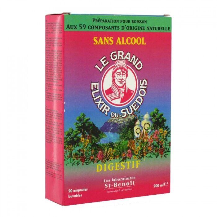 Elixir du Suedois Digestif 20 ampoules x 10ml