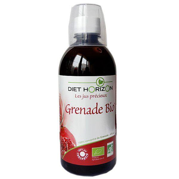 Diet Horizon Jus Précieux Grenade Bio 473ml