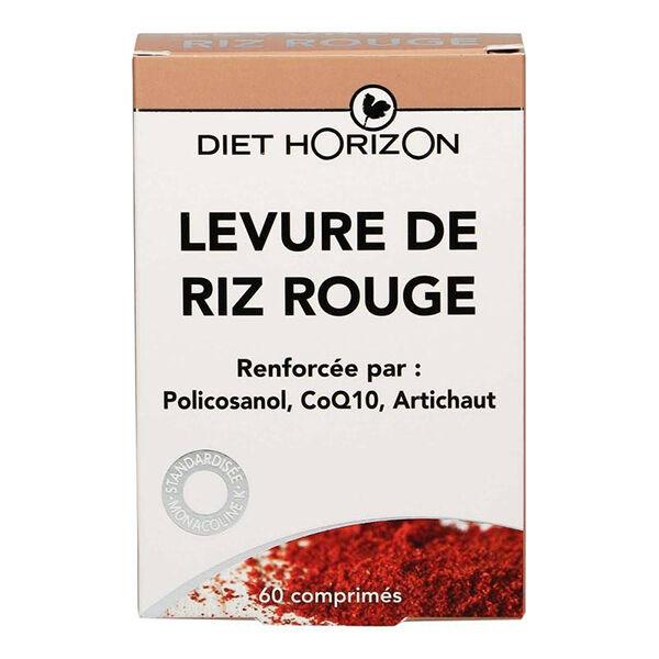 Diet Horizon Levure de Riz Rouge 60 comprimés