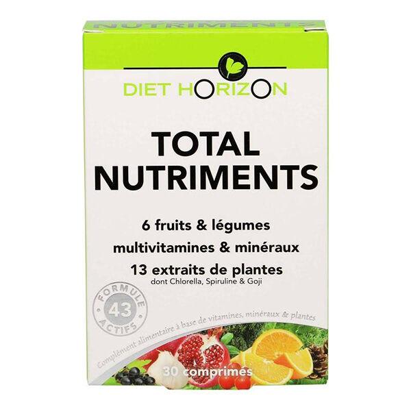 Diet Horizon Total Nutriments 30 comprimés