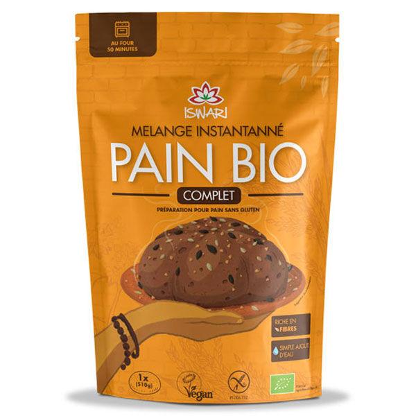 Iswari Mélange Instantané Pain Bio Complet 300g
