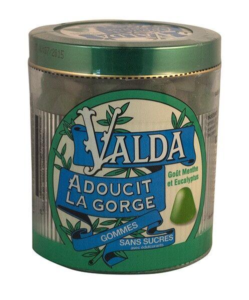 Valda Gommes Sans Sucres Goût Menthe Eucalyptus 160g