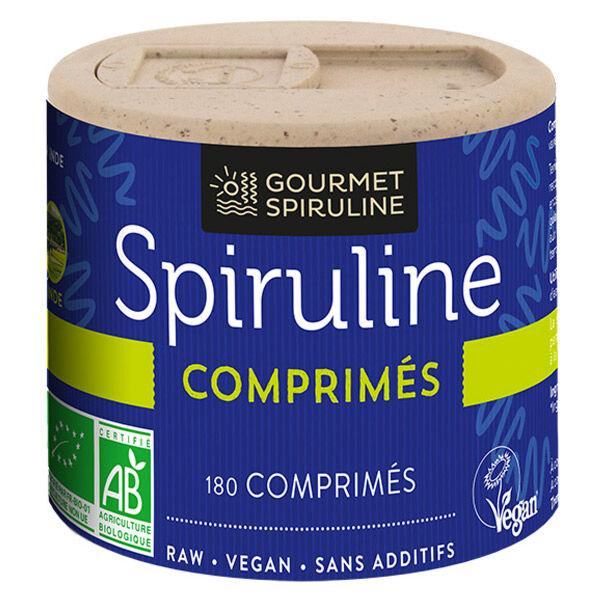 Gourmet Spiruline Bio 180 comprimés