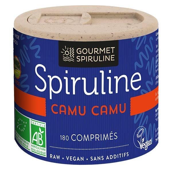 Gourmet Spiruline Camu-Camu Bio 180 comprimés