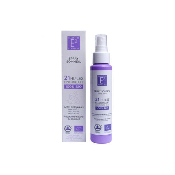 E2 Essential Elements Spray Sommeil aux 21 Huiles Essentielles Naturelles 100ml