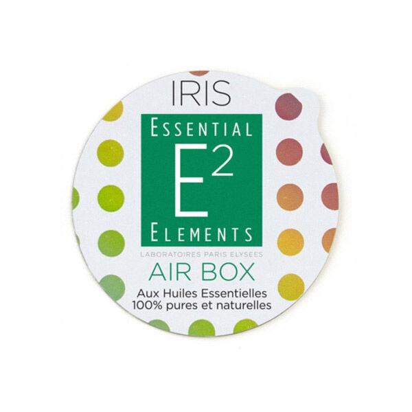 E2 Essential Elements Aromabox Air Box aux 47 Huiles Essentielles pour Diffuseur Iris 3 capsules