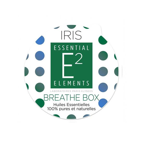 E2 Essential Elements Aromabox Breathe Box aux 28 Huiles Essentielles Pour Diffuseur Iris 3 capsules