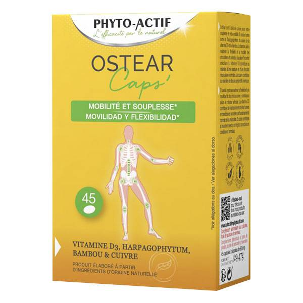 Phyto-Actif Phytoactif Ostear Articulations 45 capsules