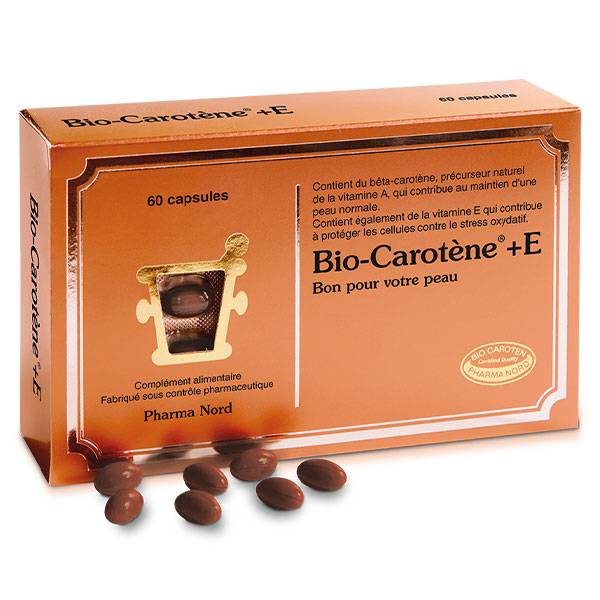 Pharma Nord Bio-Carotène + E 60 comprimés