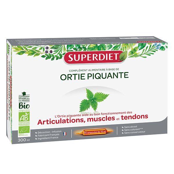 Superdiet Ortie Piquante Bio 20 ampoules