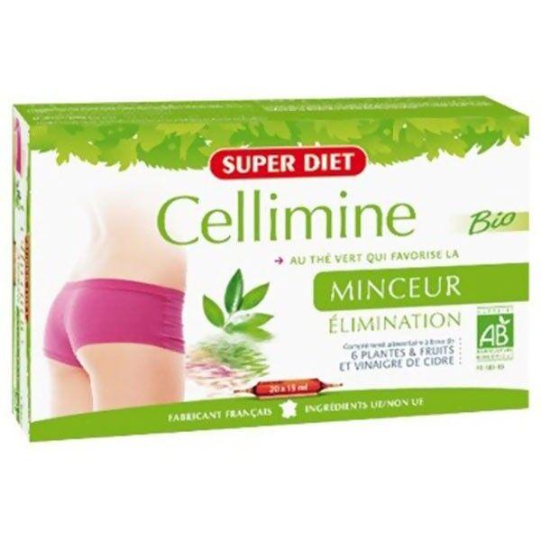 Super Diet Cellimine Bio 20 ampoules de 15ml