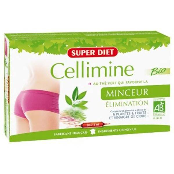 Super Diet Cellimine Bio 20 ampoules de 15ml