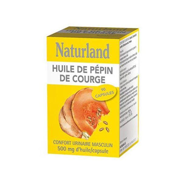 Naturland Huile de Pépin de Courge Bio 90 capsules