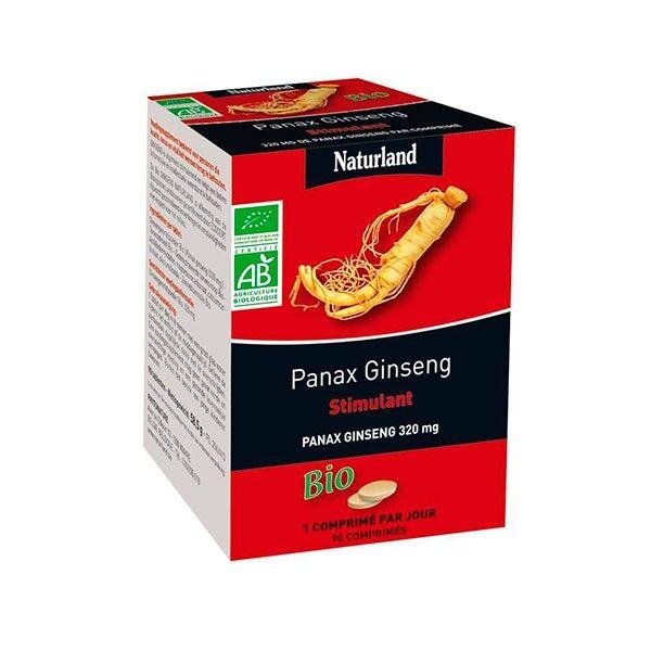 Naturland Panax Ginseng Bio 90 comprimés