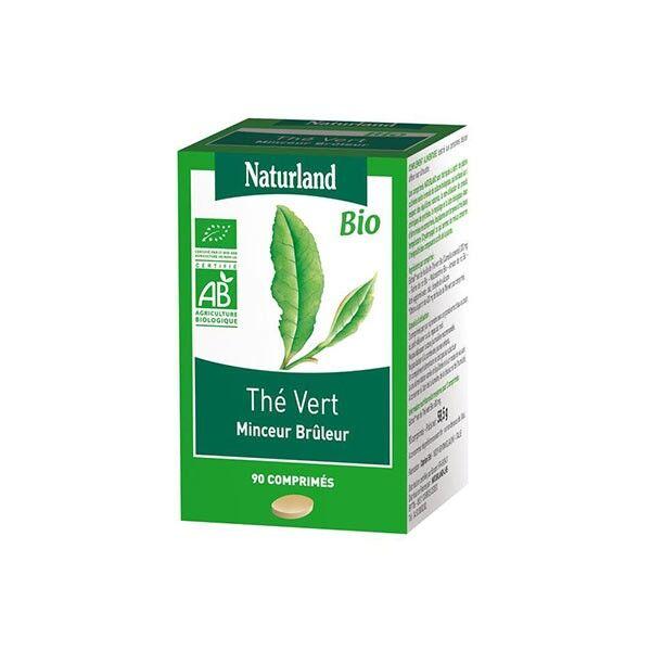 Naturland Thé Vert Bio 90 comprimés