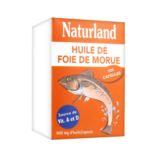 Naturland Huile de Foie de Morue 100 capsules