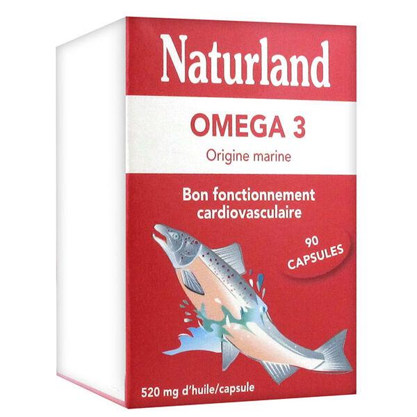 Naturland Oméga 3 90 capsules