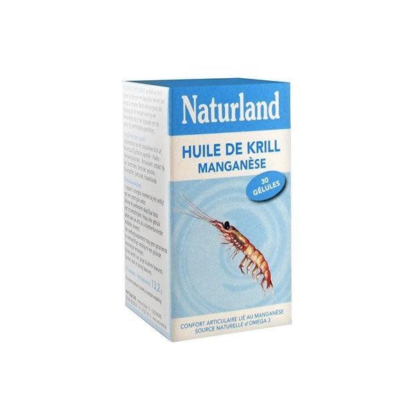 Naturland Huile de Krill Manganèse 45 capsules