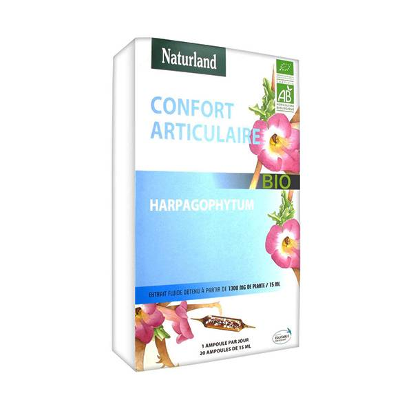 Naturland Confort Articulaire Bio 20 ampoules