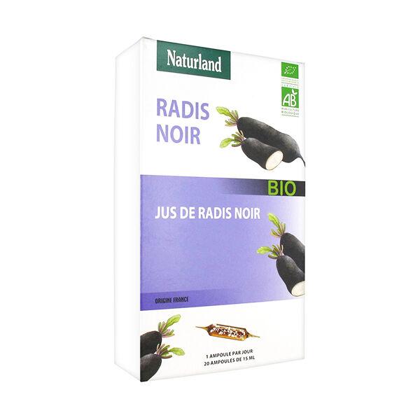 Naturland Radis Noir Bio 20 ampoules