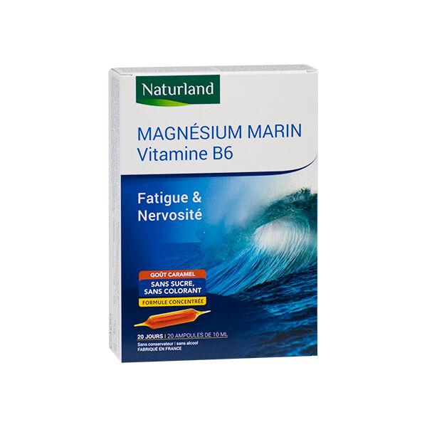 Naturland Magnésium Marin + Vitamine B6 20 ampoules