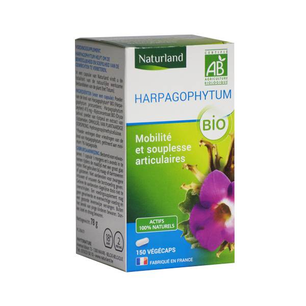 Naturland Harpagophytum Bio 150 végécaps