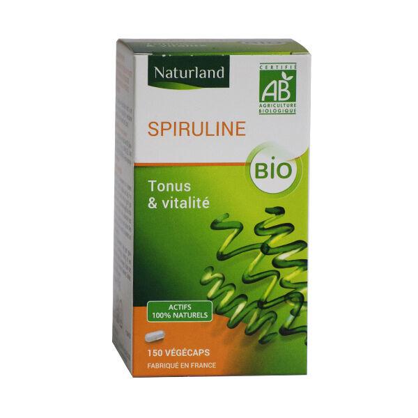 Naturland Spiruline Bio 150 végécaps