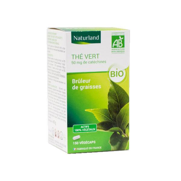 Naturland Thé Vert Bio 150 végécaps