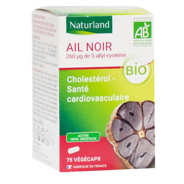 Naturland Ail Noir Bio 75 végécaps