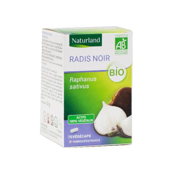 Naturland Radis Noir Bio 75 végécaps