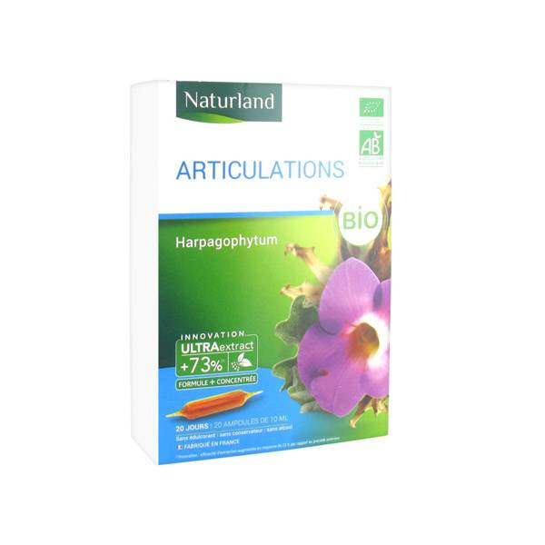 Naturland Articulations Bio 20 ampoules