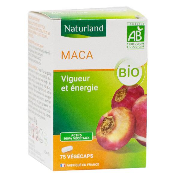Naturland Maca Bio 75 Végécaps