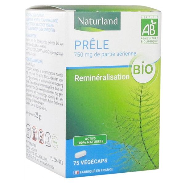 Naturland Prêle Bio 75 Végécaps
