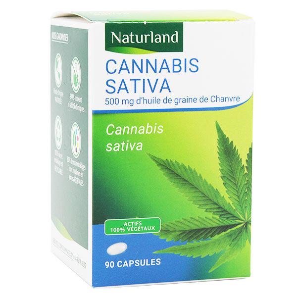 Naturland Cannabis Sativa 90 capsules
