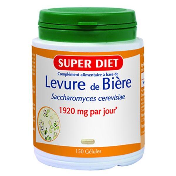 SuperDiet Super Diet Levure de Bière - 125 gélules