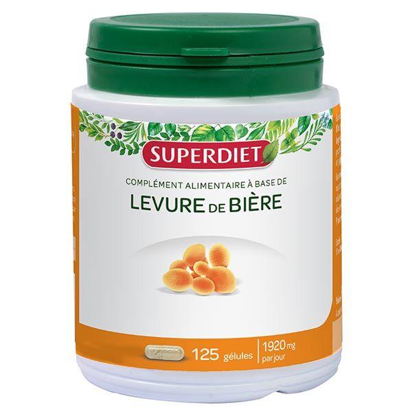 SuperDiet Super Diet Levure de Bière 125 gélules